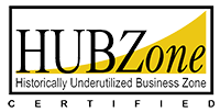 HUBZone Underutilized Business Zone Certified