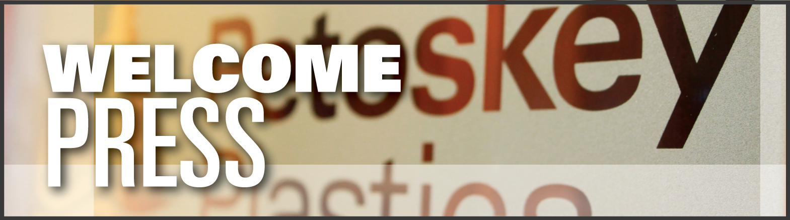 Welcome press Banner